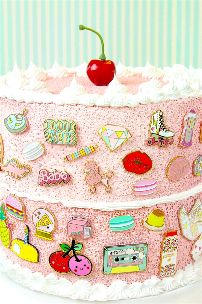 Easy DIY Faux-Cake Flair aka #Pingame Organizers