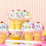 DIY No-Bake Mini Cupcake Ice Cream Cones!