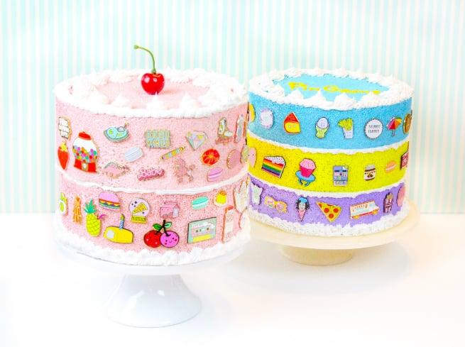 Faux-Cake Flair aka #Pingame Organizers