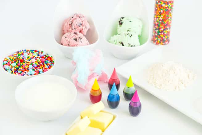 Rainbow Whoopie Pies Ice Cream Sandwiches Ingredients