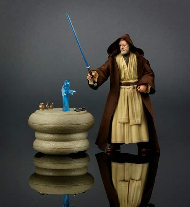 STAR WARS THE BLACK SERIES 6-Inch Obi-Wan Kenobi Pack - oop