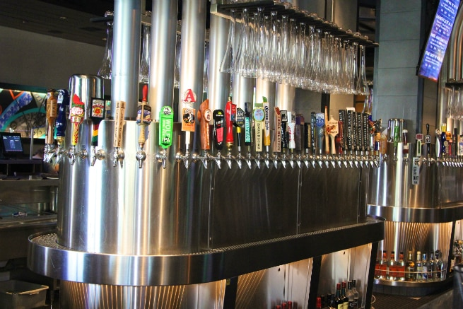 Yard House Beer Taps 1