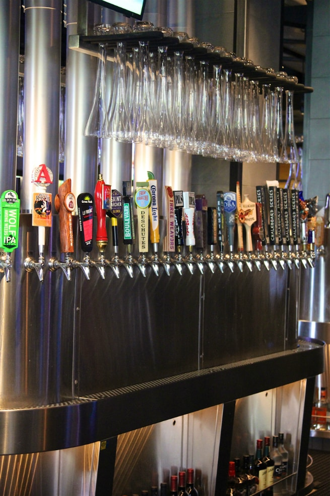 Yard House Beer Taps 2