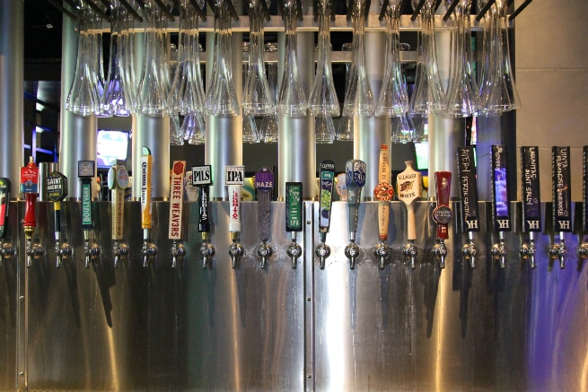 Yard House Beer Taps 3