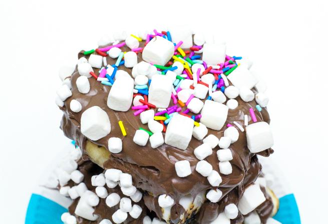 DIY Crazy S'mores Donut Sprinkles