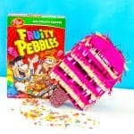 DIY Fruity Pebbles Filled Popsicle Piñata!