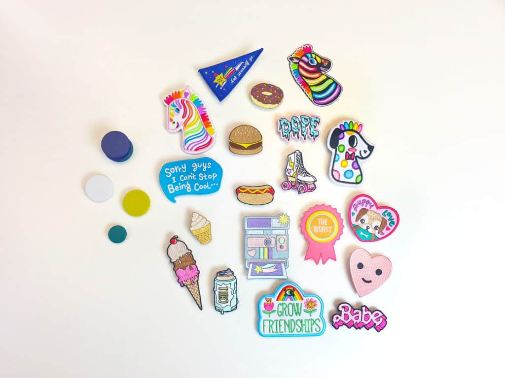 DIY PATCH LOCKER MAGNETS Supplies