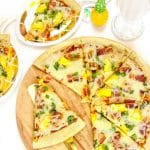 Bacon Pineapple Pizza & Chocolate Hazelnut Milk Shake Recipe!