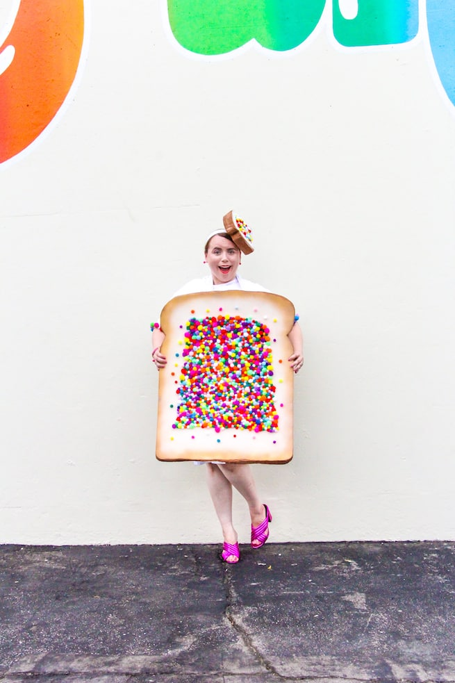 Diy fairy bread costume brite and bubbly easy diy fairy bread halloween costume solutioingenieria Choice Image