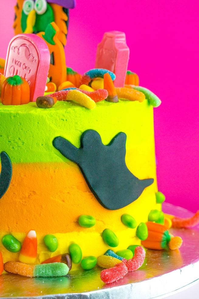 easy-lisa-frank-inspired-neon-halloween-cake
