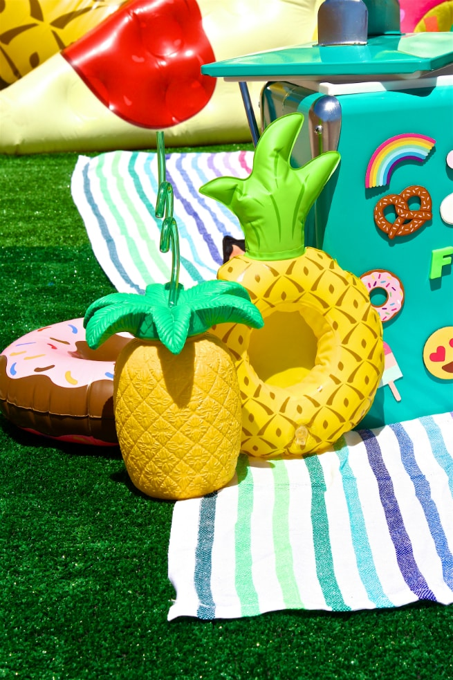 Foodie Pool Party Pineapples