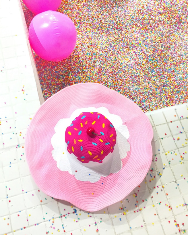 ICE CREAM HAT and Sprinkles Pool