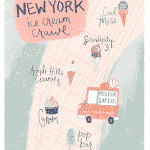 Our New York Ice Cream Crawl + Free Printable Map & Rating Sheet!