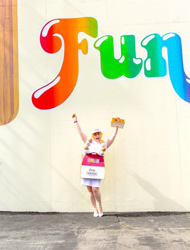 diy-dunkin-donuts-munchkins-inspired-costume