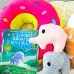 DIY Mini Elephant Pillows & The Little Elephant Who Wants to Fall Asleep Book Giveaway!