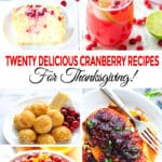 20 Delicious Cranberry Recipes For Thanksgiving!