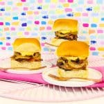 Yummy Crock-Pot® Slow Cooker Baby Back Rib Sliders With Pumpkin Mayo!