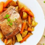 A Holiday Feast: Crock-Pot® Slow Cooker Pork Roast and Veggies!