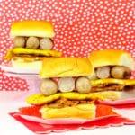 Easy Mini Sausage & Hash Browns Breakfast Sandwiches!