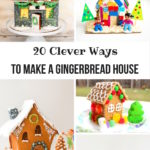 20 Clever Ways To Make A Gingerbread House!