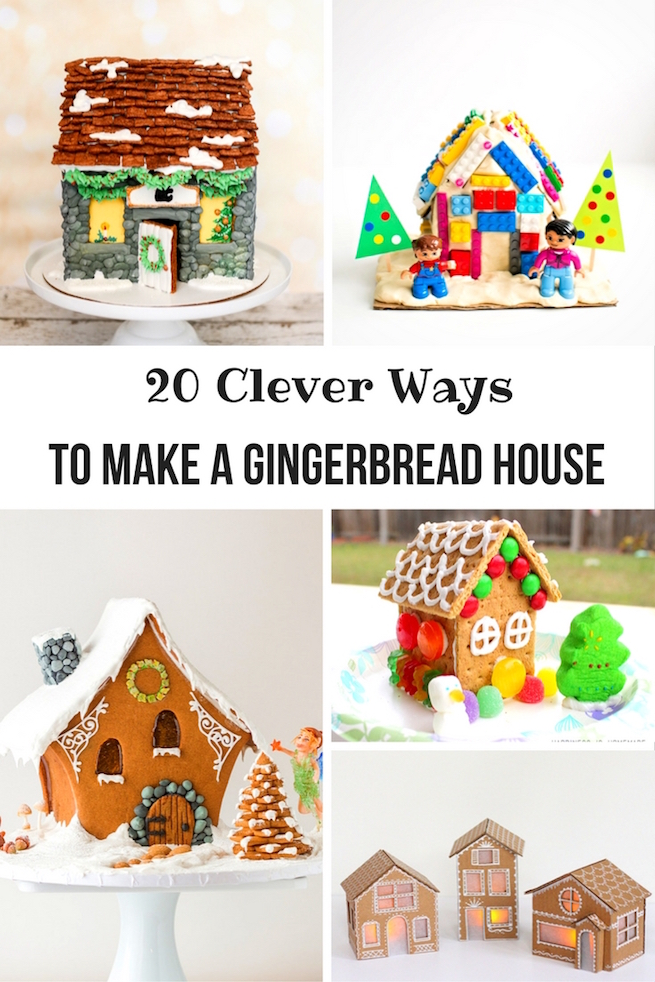 20 clever ways to make a gingerbread house brite and bubbly for How do you make a gingerbread house