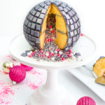 DIY New Years Disco Ball Piñata Cake!
