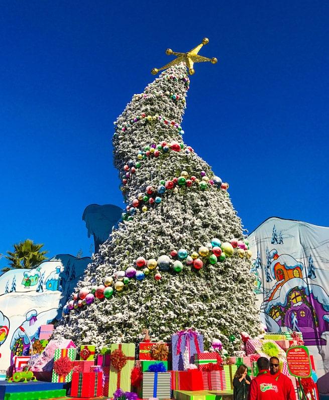 Celebrating Grinchmas 2016 At Universal Studios Hollywood