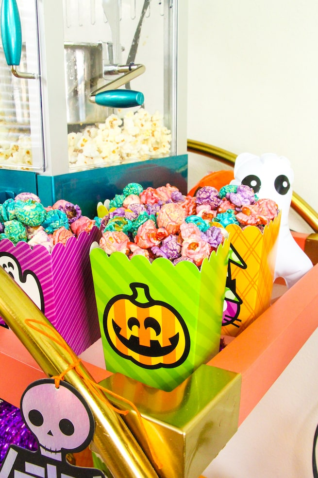 lisa-frank-inspired-halloween-party-popcorn-bar-2