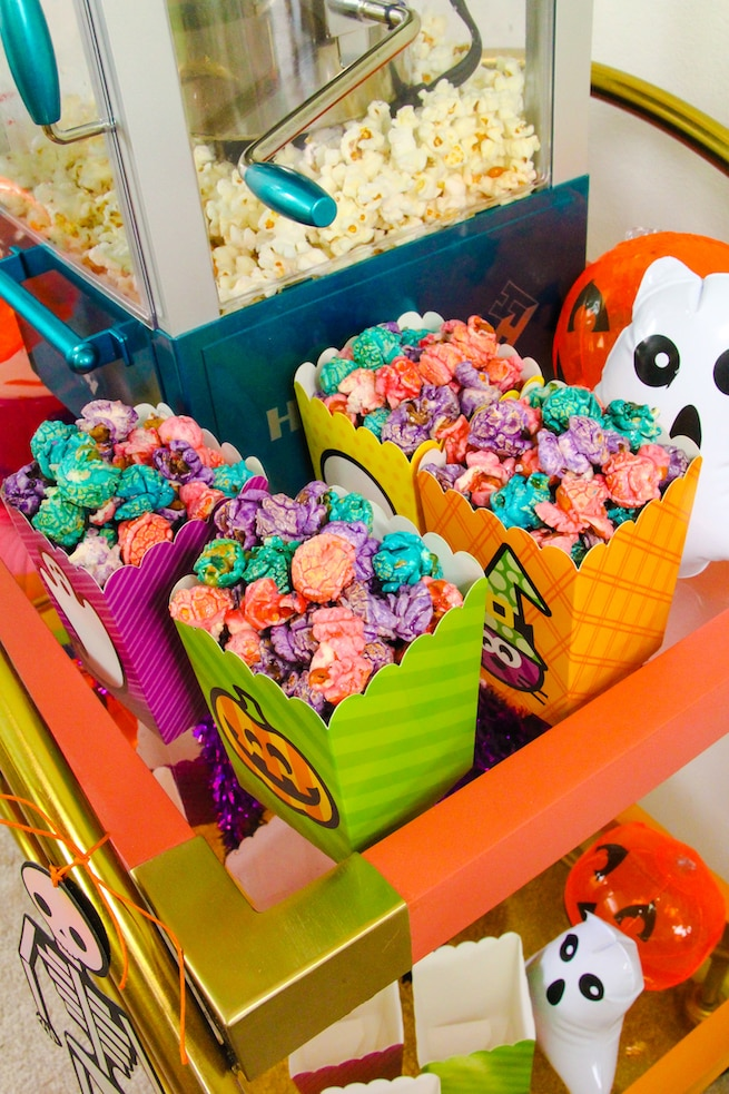 lisa-frank-inspired-halloween-party-popcorn-bar-3