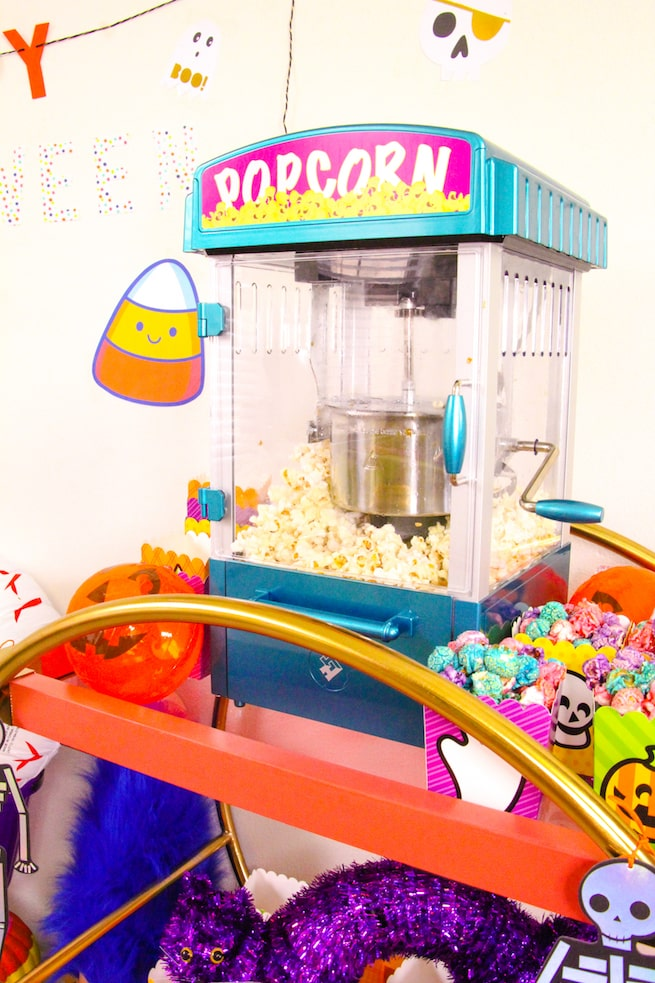 lisa-frank-inspired-halloween-party-popcorn-bar-4