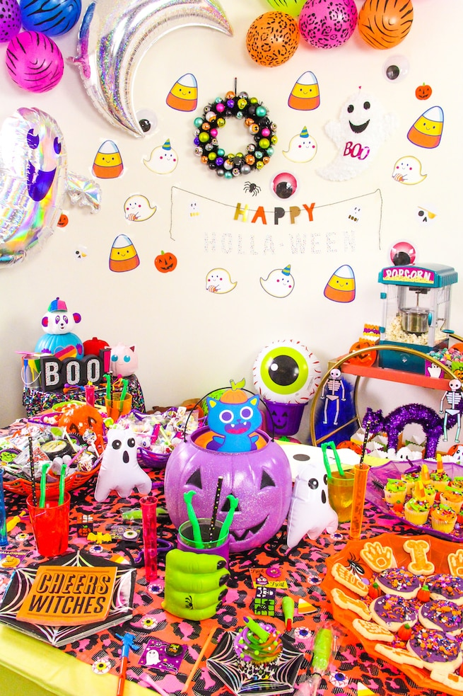 lisa-frank-inspired-halloween-party