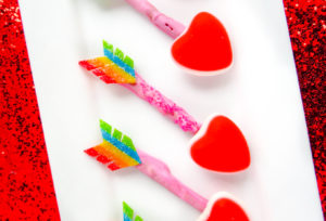 Tasty Treats Cupid Arrows!