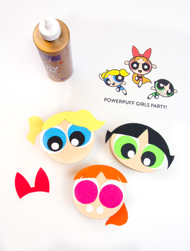Diy Powerpuff Girls Treat Boxes Brite And Bubbly