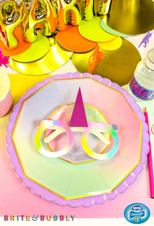 Easy DIY Unicorn Kids Party Drinks! ⋆ Brite and Bubbly
