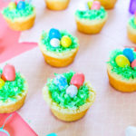 Yummy Coconut Easter Basket Cookie Cups!
