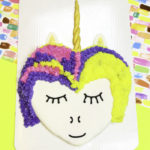 DIY Giant Unicorn Cookie!