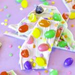 DIY Easy Jelly Bean Bark for Easter!