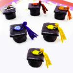 DIY Marshmallow Graduation Caps!