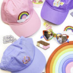 DIY Rainbow Sequin & Patch Baseball Caps!