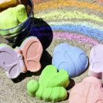 DIY Rainbow Sidewalk Chalk!
