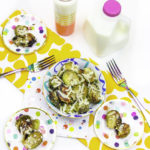 Easy Garlic Parmesan Brussels Sprouts!