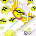 DIY Mini Minions Cake & Cupcakes With Easy Cleanup!