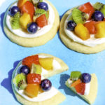 Easy Mini Fruity Pizza Cookies!