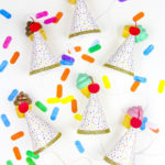 DIY Ice Cream Party Hats!