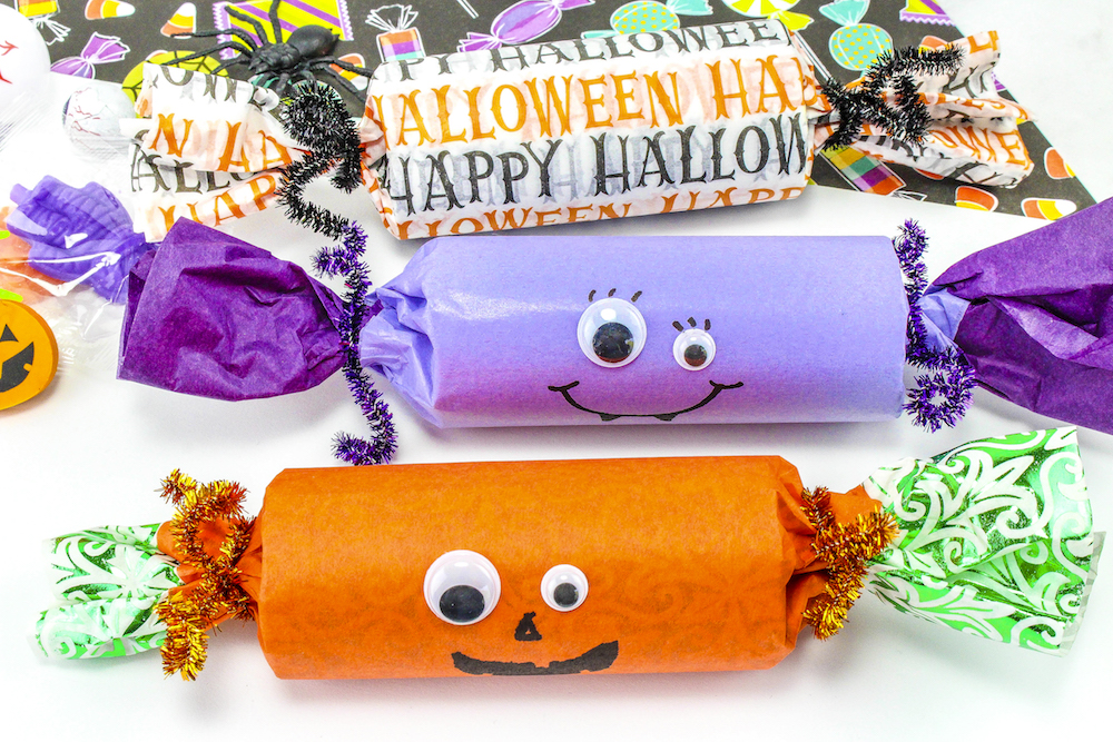 DIY Cute Halloween Candy Poppers! ⋆ Brite and Bubbly
