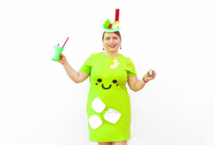 DIY Mint Julep Halloween Costume!
