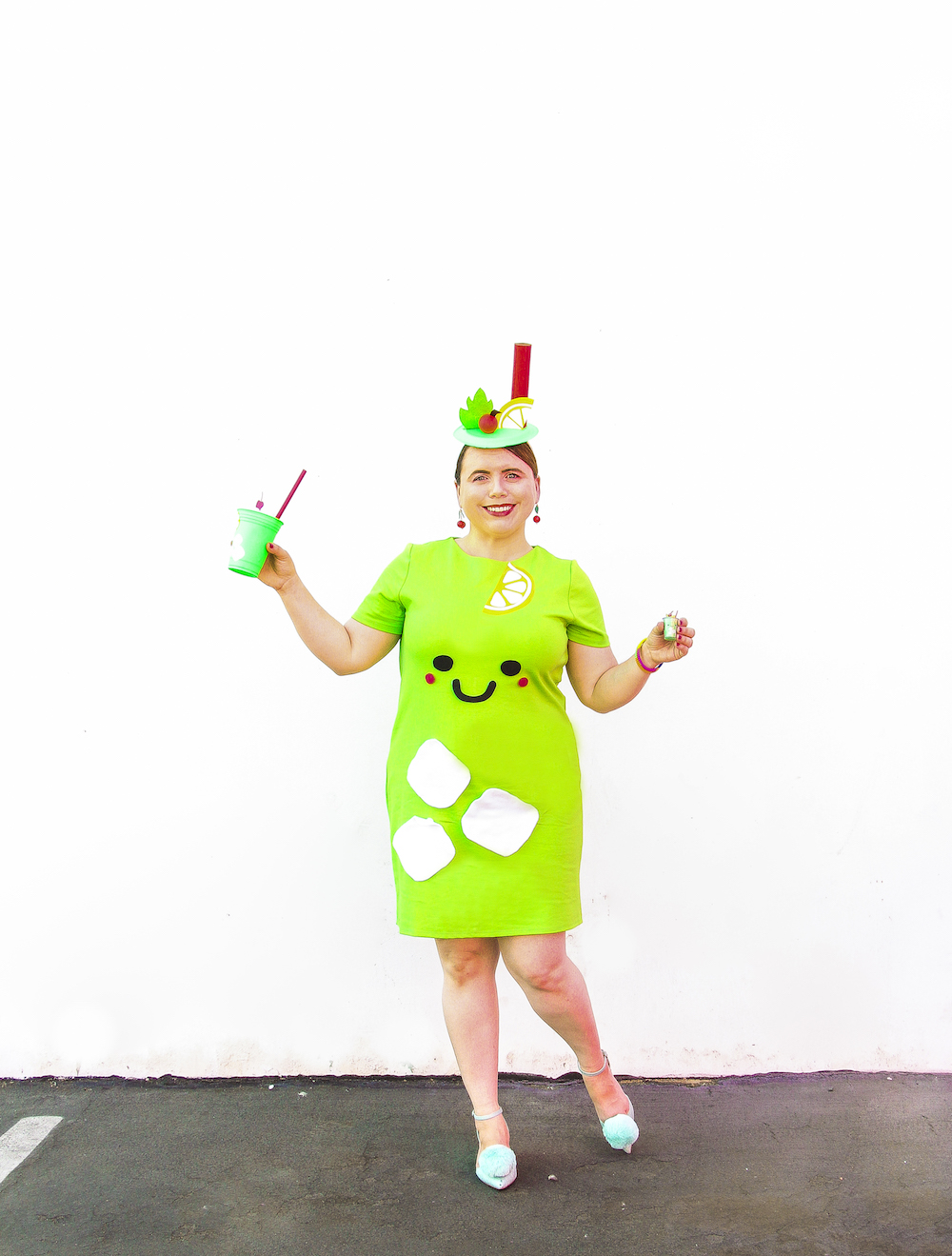 DIY Mint Julep Halloween Costume! ⋆ Brite and Bubbly
