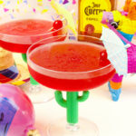 Celebrating Our Mexican Heritage With A Frozen Strawberry Margarita!