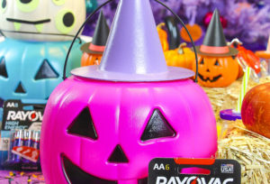 DIY Battery Powered Halloween Pumpkin Lights!