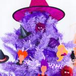 DIY Hocus Pocus Themed Halloween Tree!